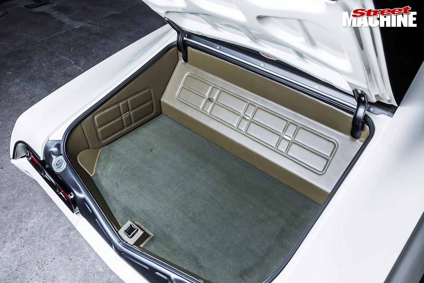 Chev Impala boot
