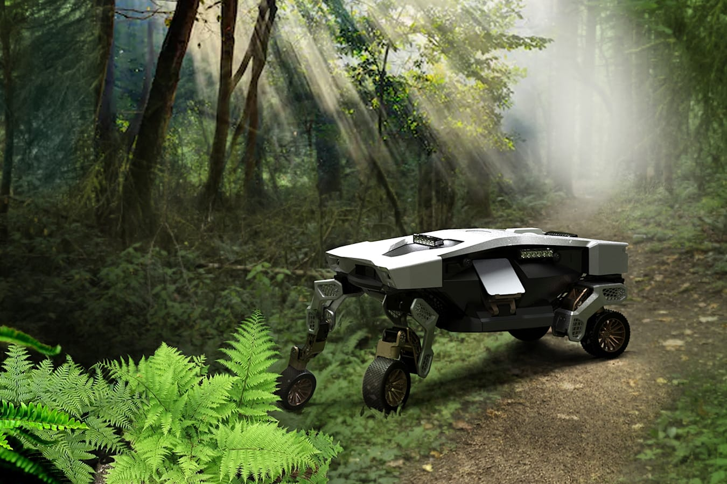 Hyundai reveals TIGER go-anywhere land drone