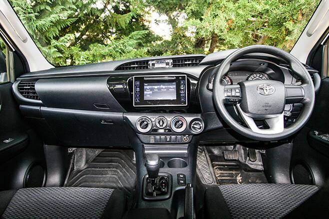 Toyota HiLux 4x4 Workmate interior