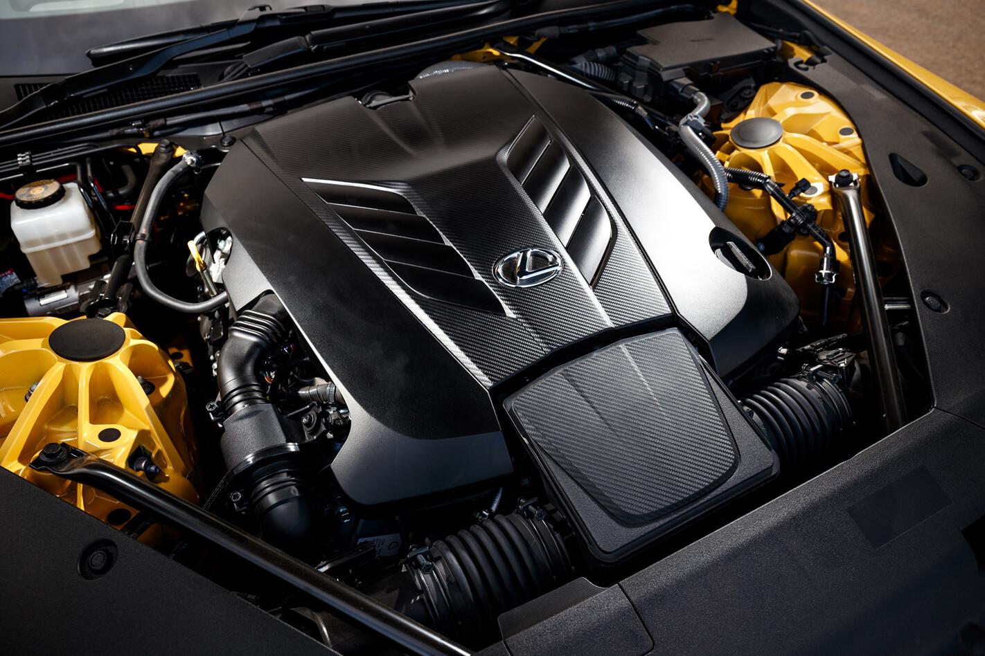 Lexus LC500 motor