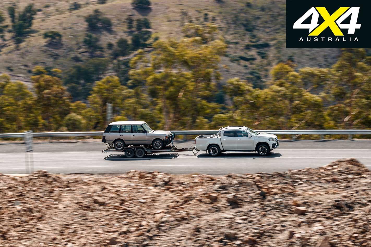 2019 Mercedes Benz X 350 D Steep Gradient Tow Testing Jpg