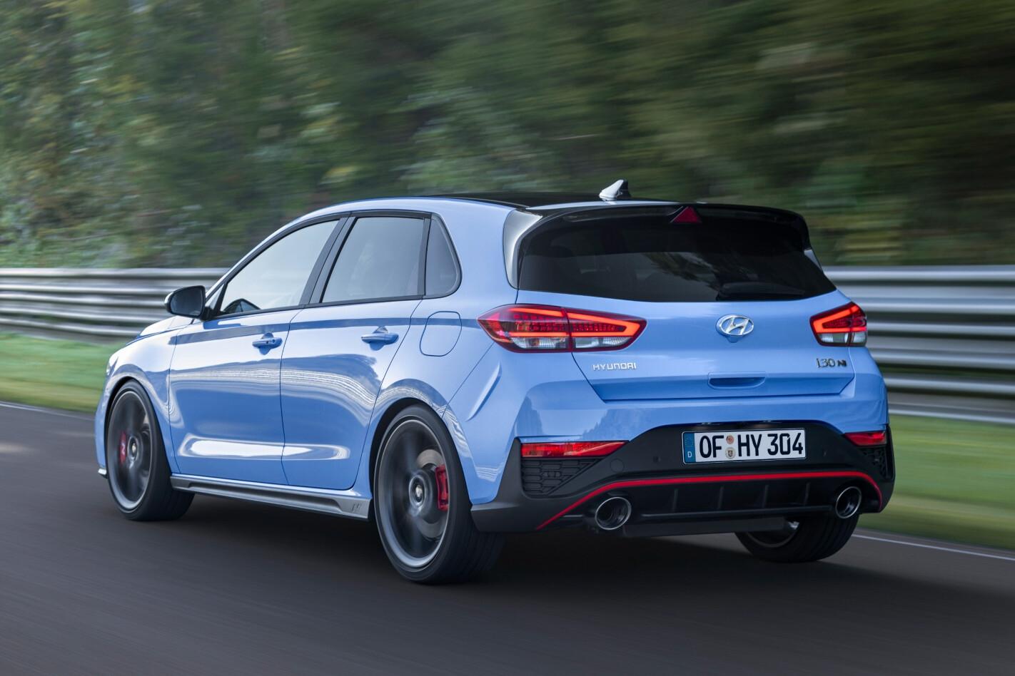 2021 Hyundai i30 N hatchback