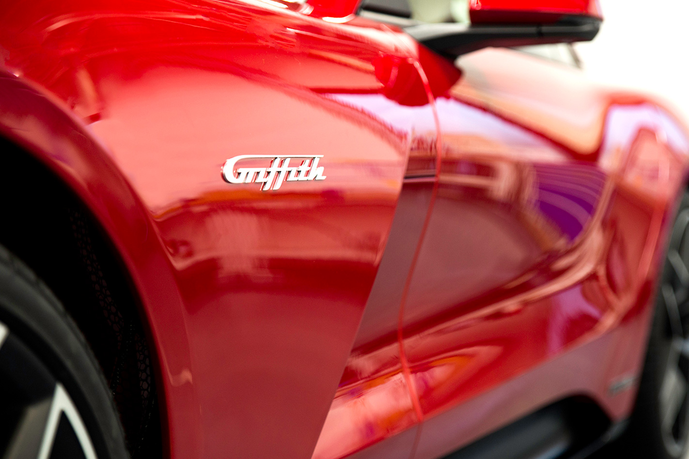TVR Griffith badge