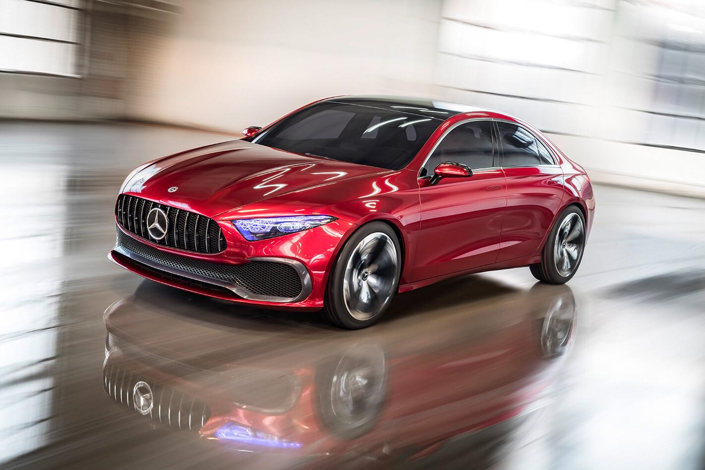 2018 Mercedes-Benz Concept A