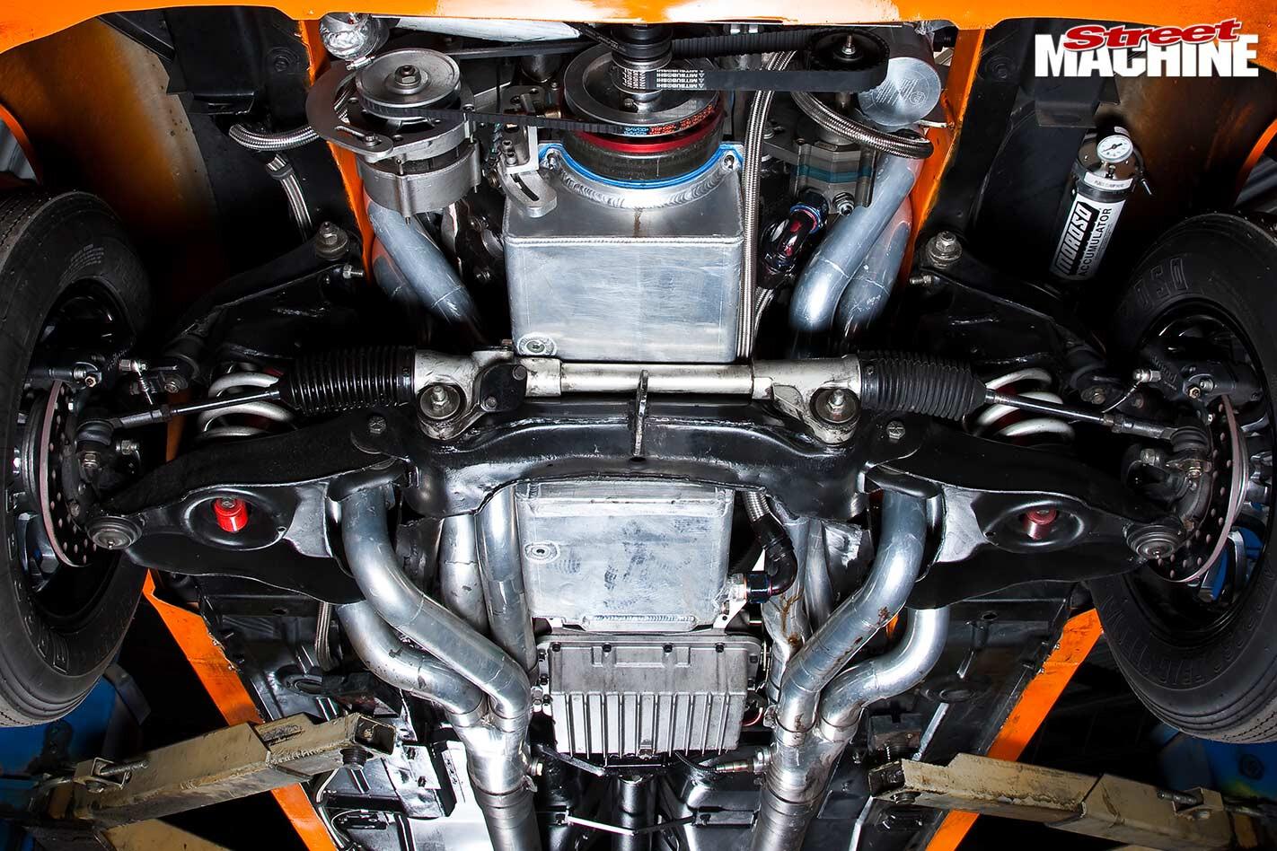 Holden LH Torana underside