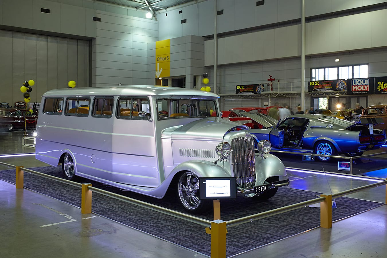 Silver Fox Bus at the Qld Hot Rod Show