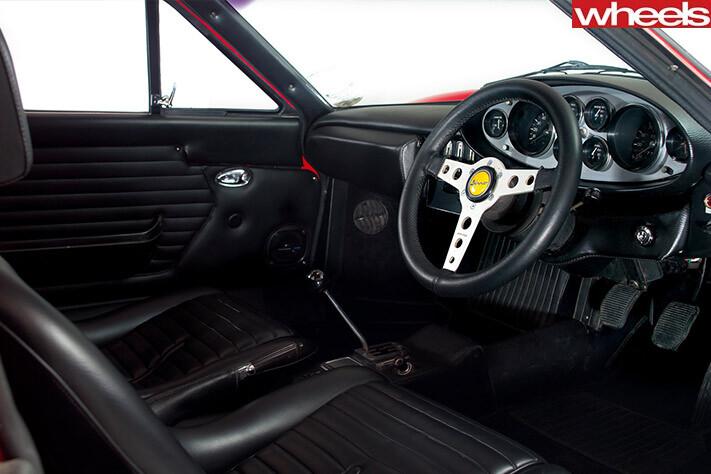 Retro Ferrari Dino Interior Nw Jpg