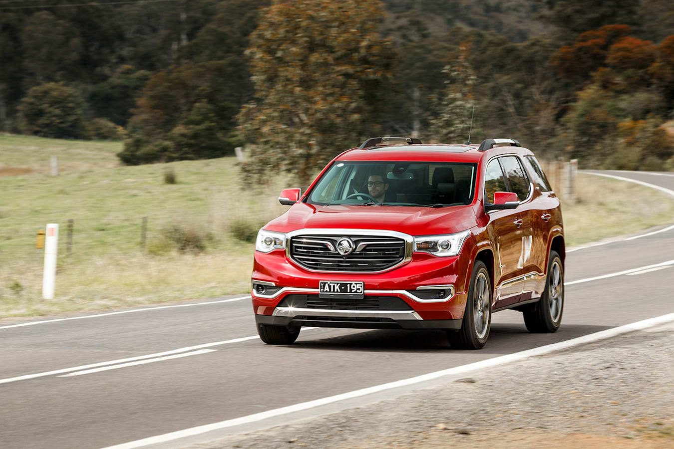 Driving the Holden Acadia