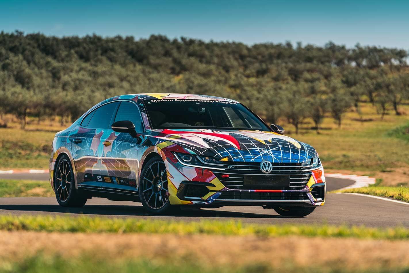 Volkswagen Arteon Time Attack Car Revealed Jpg