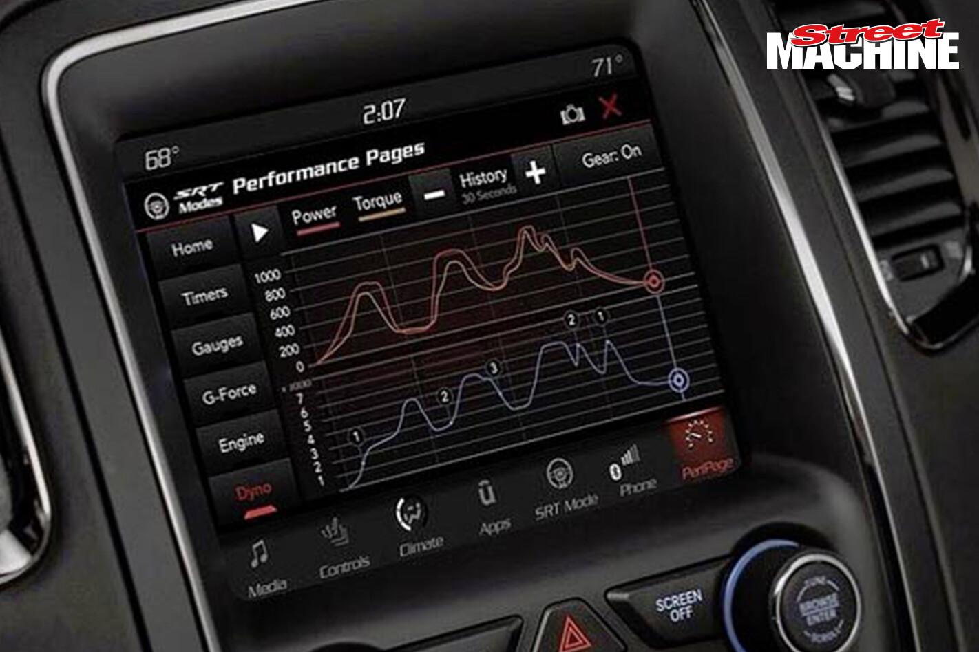 Dodge Demon SRT Performance Modes
