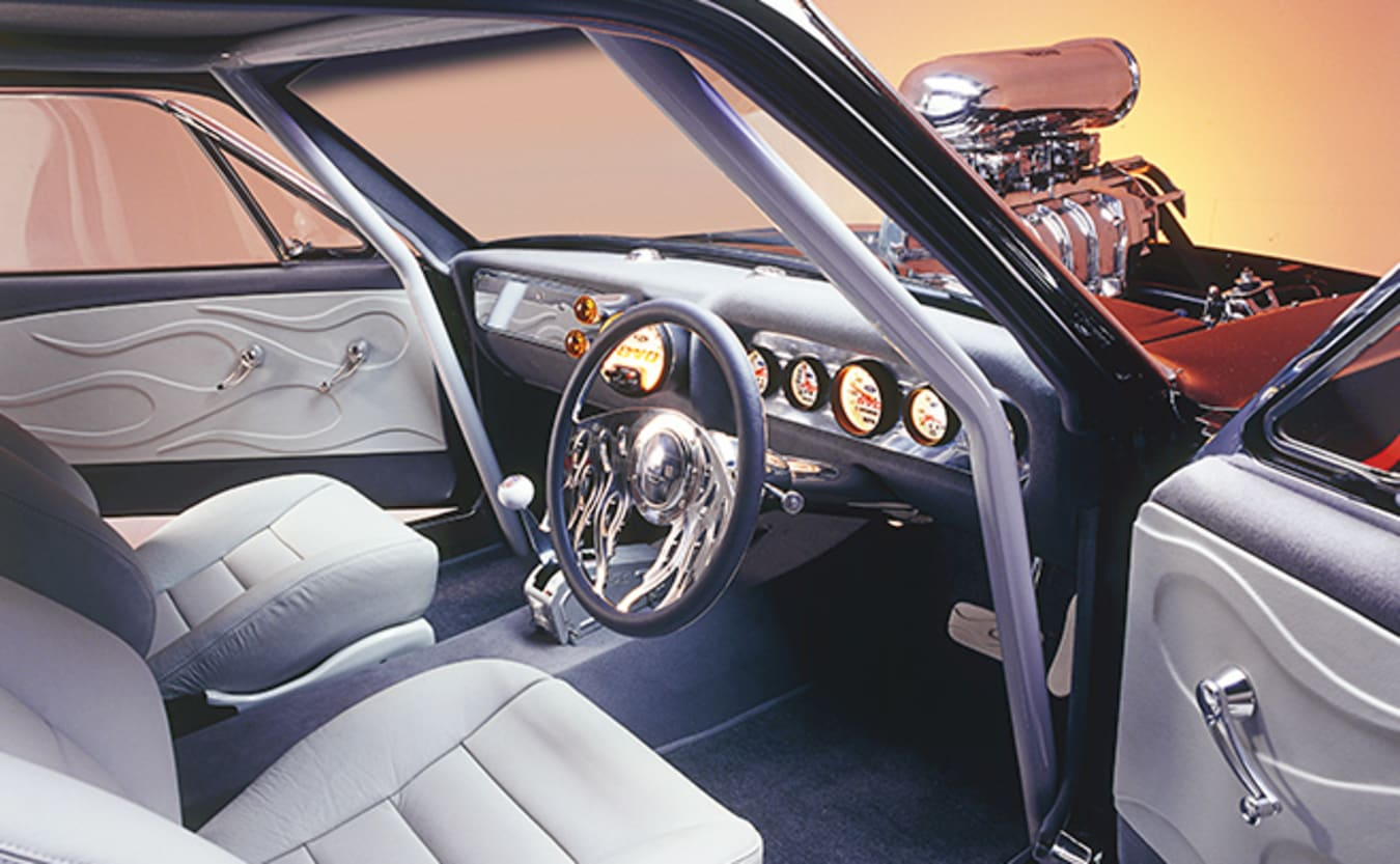 Ford Mustang coupe interior