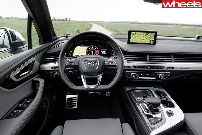 Audi -SQ7-interior