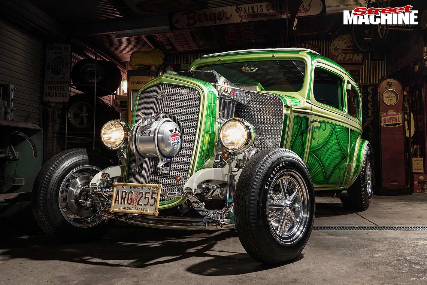 1933 Chev two door sedan