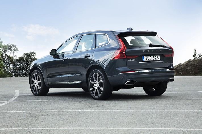 Volvo Xc 60 Rear Quarter Jpg