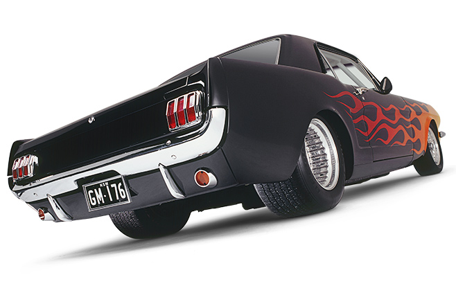Ford Mustang coupe rear