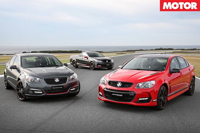 2017 Holden Special Editions models