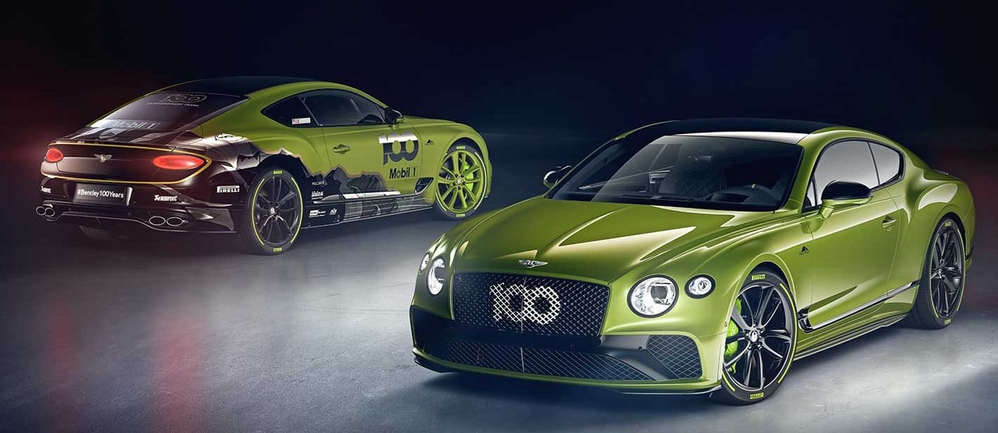 Bentley Continental GT Limited Edition celebrates Pikes Peak record