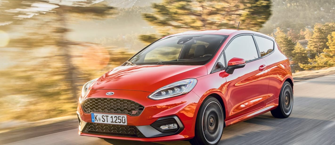 ford fiesta st tracking
