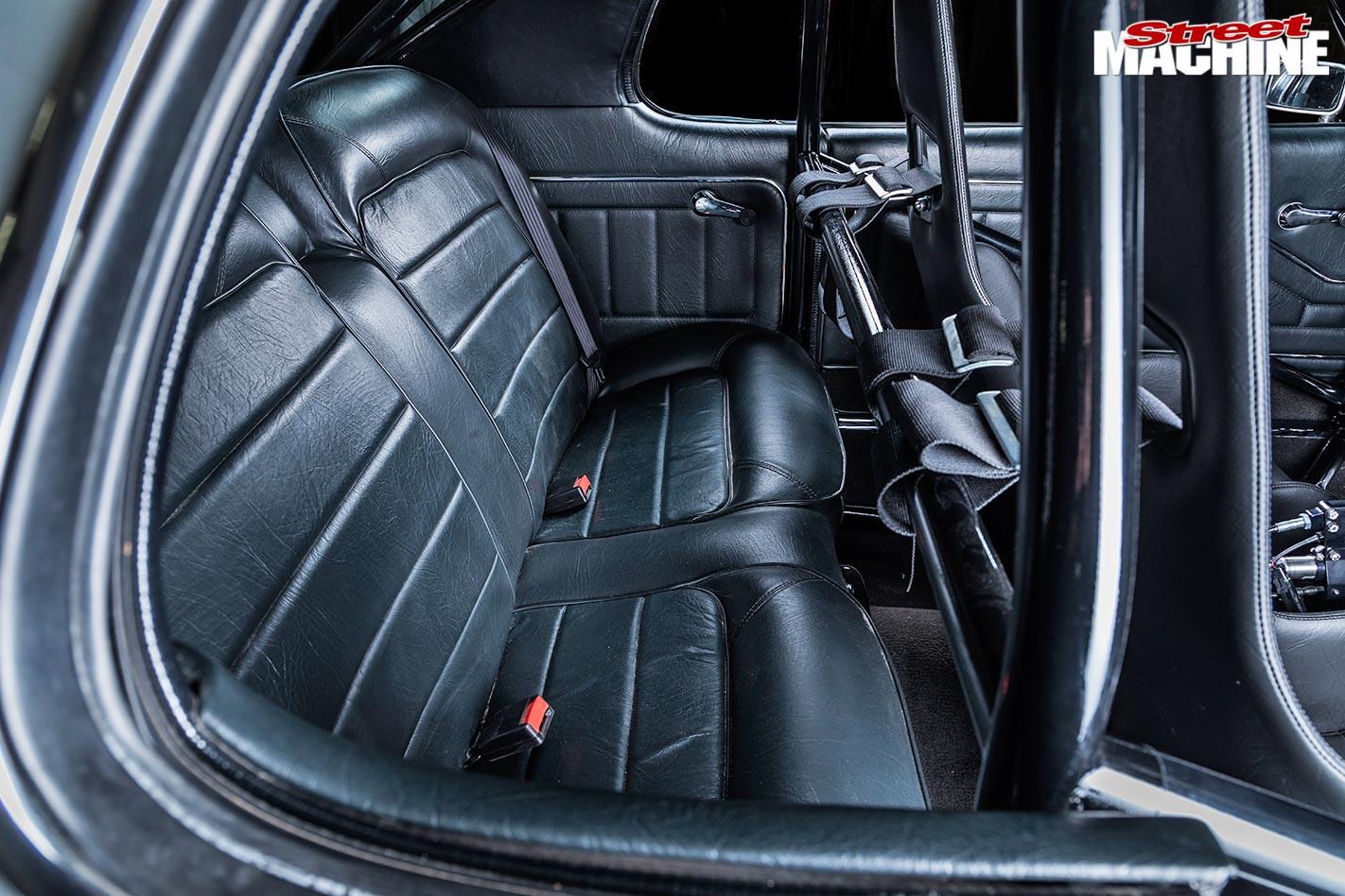 Holden HQ Monaro GTS rear seat