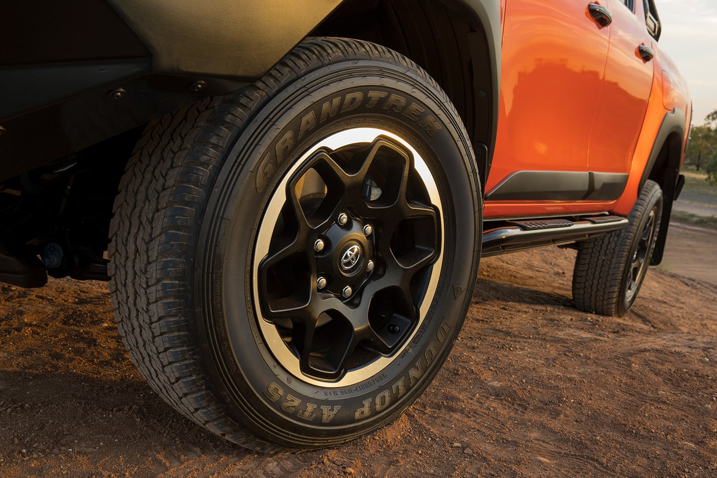 Hilux Rogue Rugged and Rugged X wheels