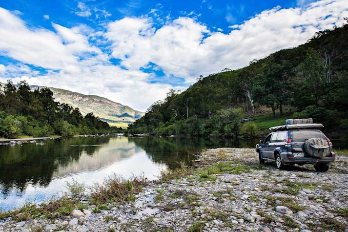 4x4 Trip to Oxley Wild Rivers National Park NSW