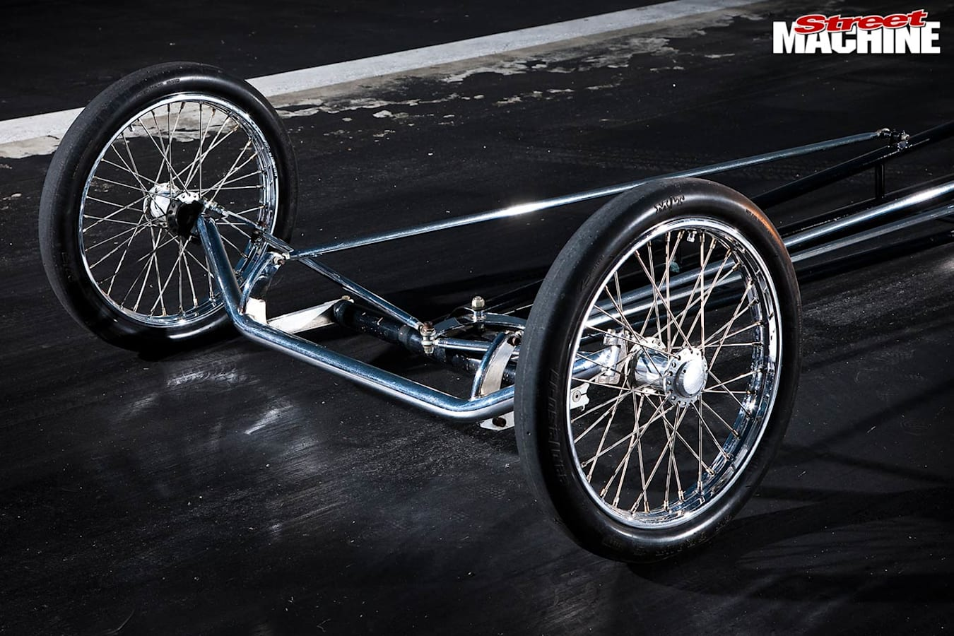 1967 427 cammer dragster wheels