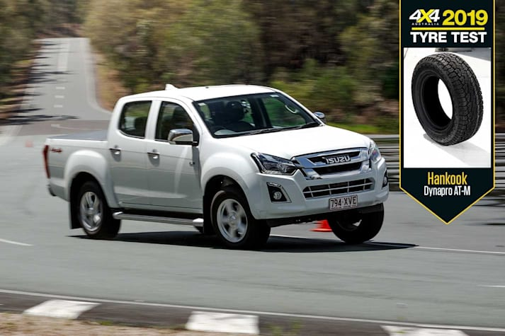 Hankook Dynapro AT-M review 4x4 Tyre Test 2019