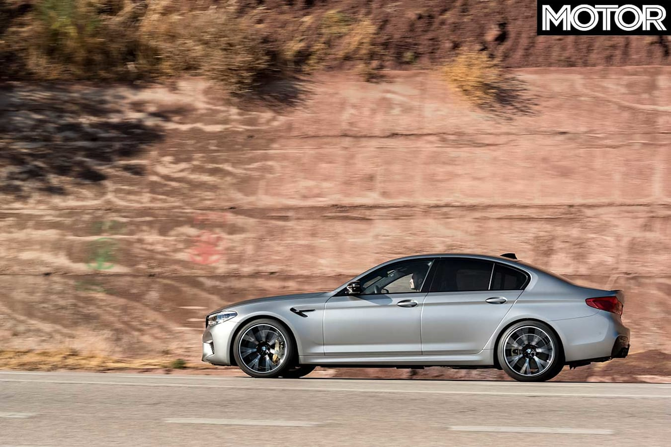 2018 BMW M 5 Competition Side Profile Jpg