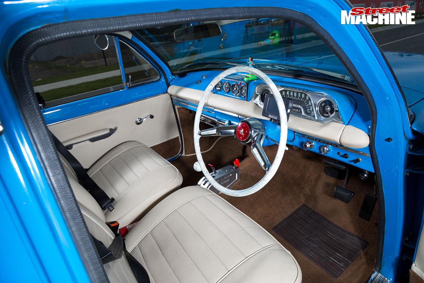 Holden EH interior front