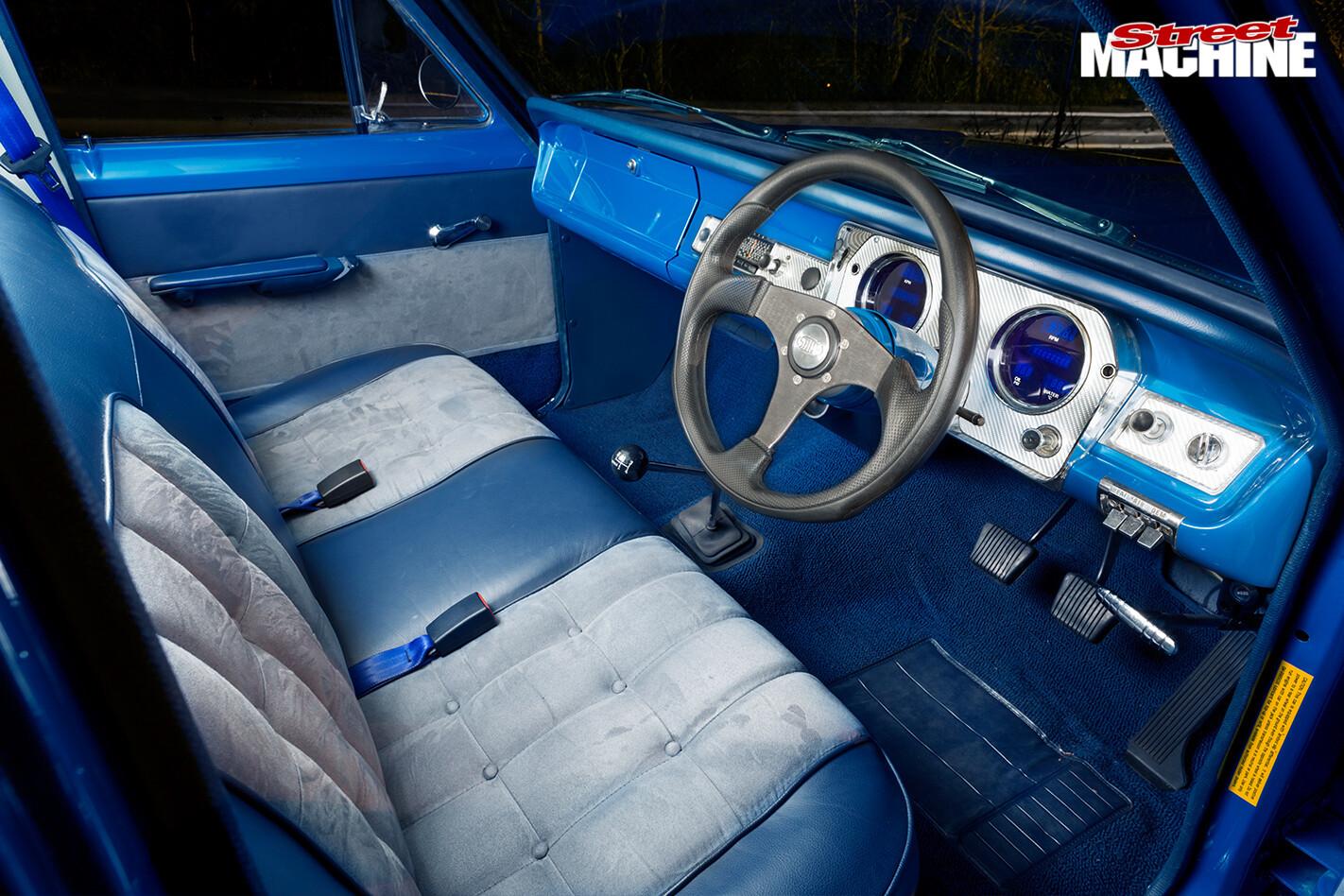 Holden -hr -panel -van -interior