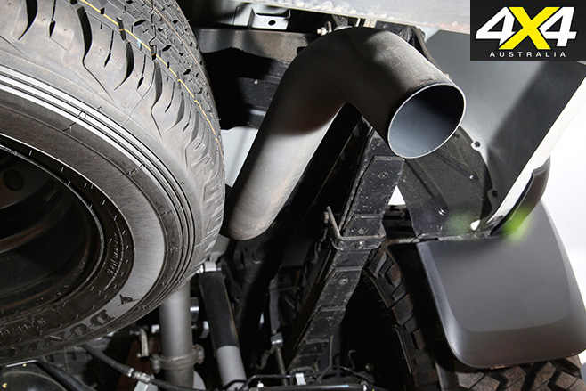 Harrop Ford Ranger exhaust