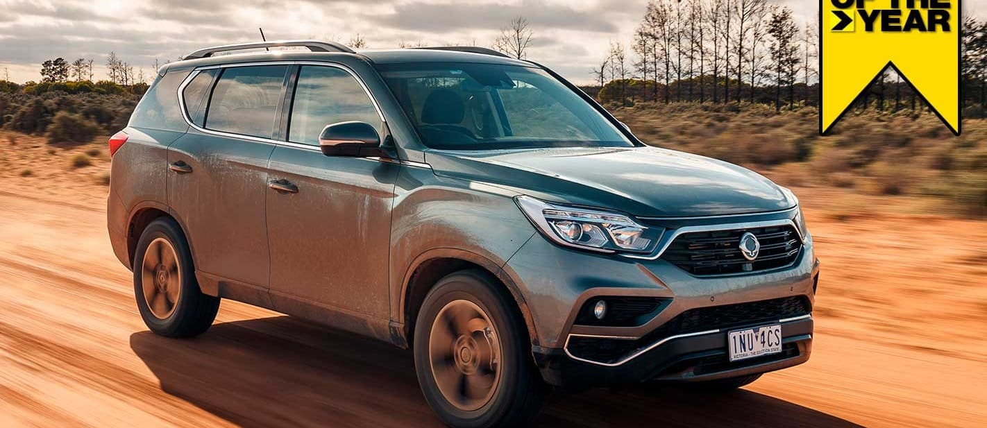SsangYong Rexton ELX 2019 4x4 of the Year contender