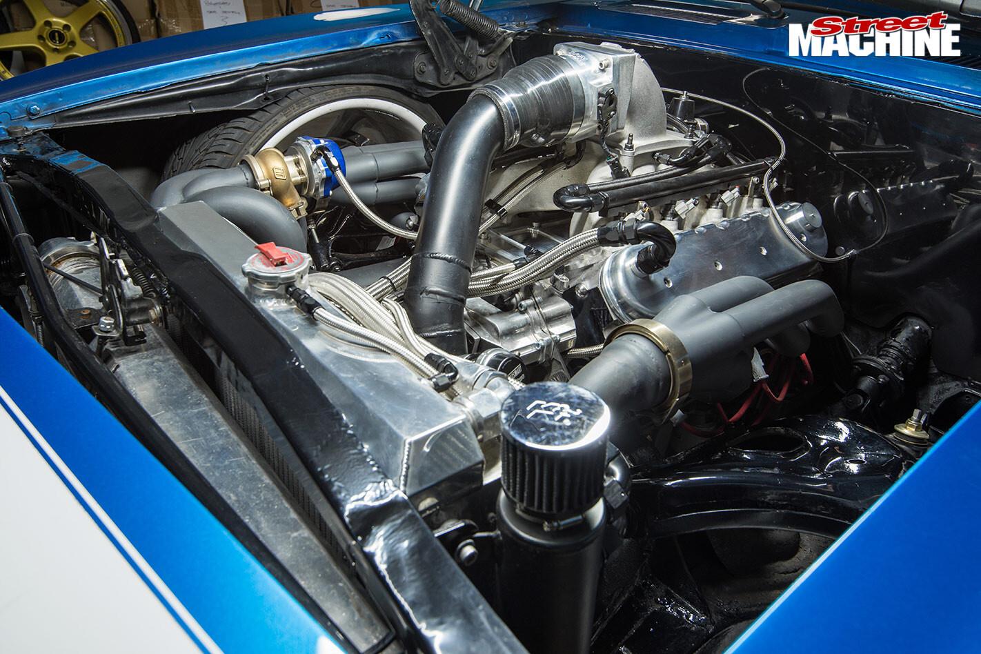 Camaro engine bay