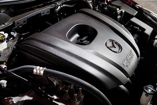 Mazda 2 SkyActiv Engine