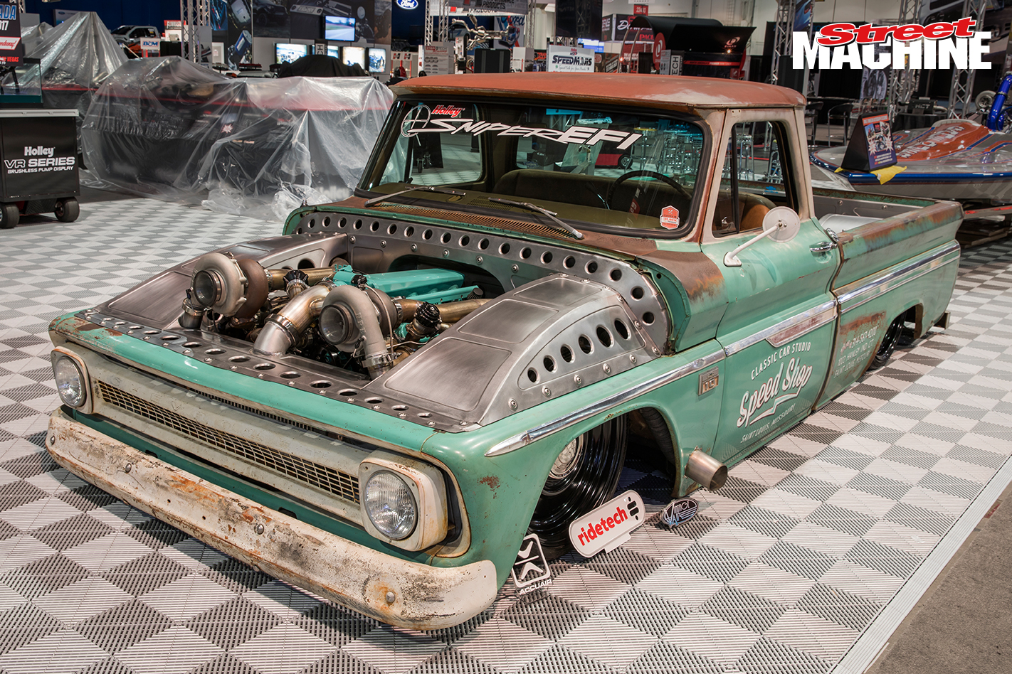 Twin Turbo Shop Truck SEMA