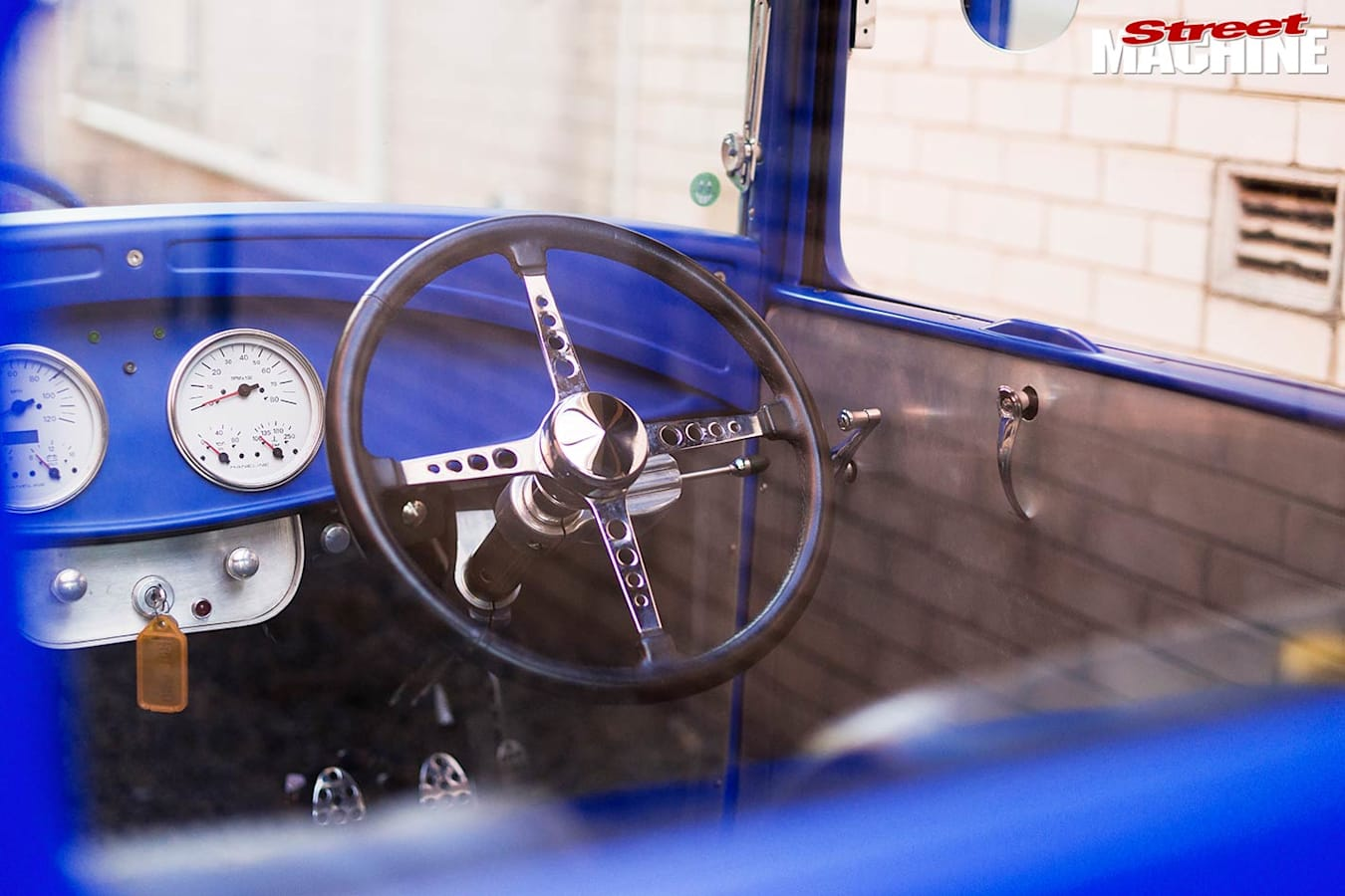 Ford coupe dash