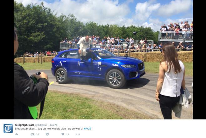 Jaguar -F-Pace -crash
