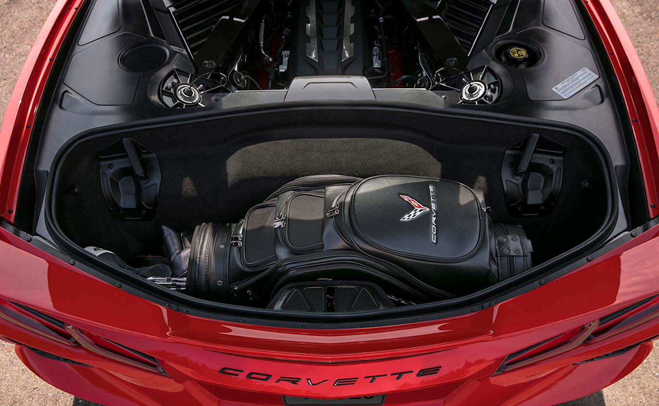 Chevrolet Corvette C8 Boot Space