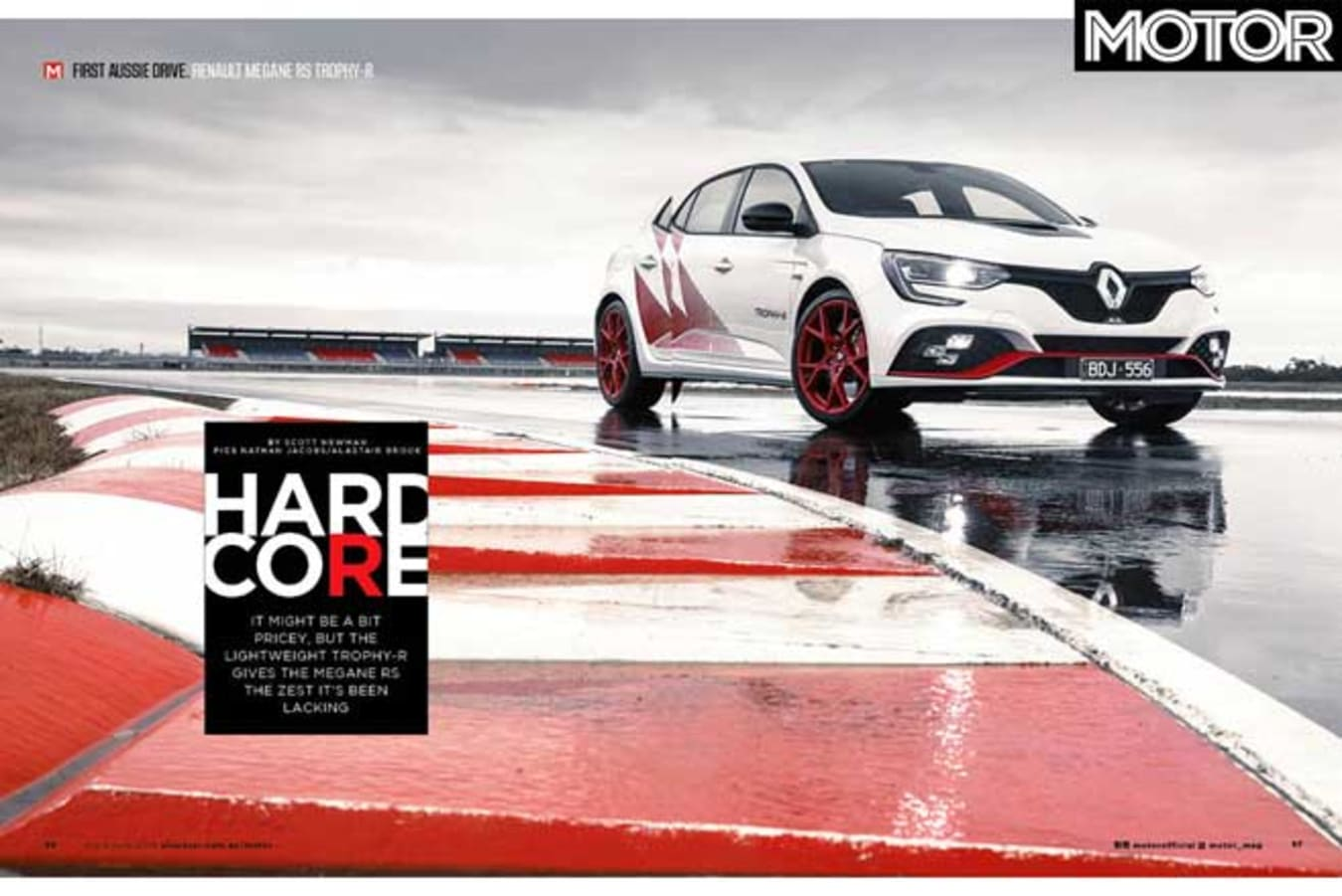 MOTOR Magazine Annual 2019 Issue Renault Megane RS Trophy R Review Jpg