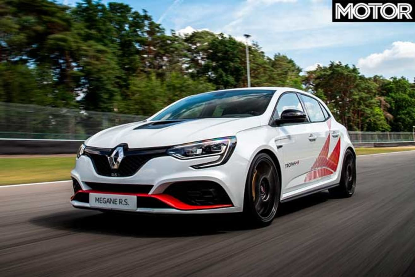 Renault Megane RS Trophy R Record Edition Front Jpg