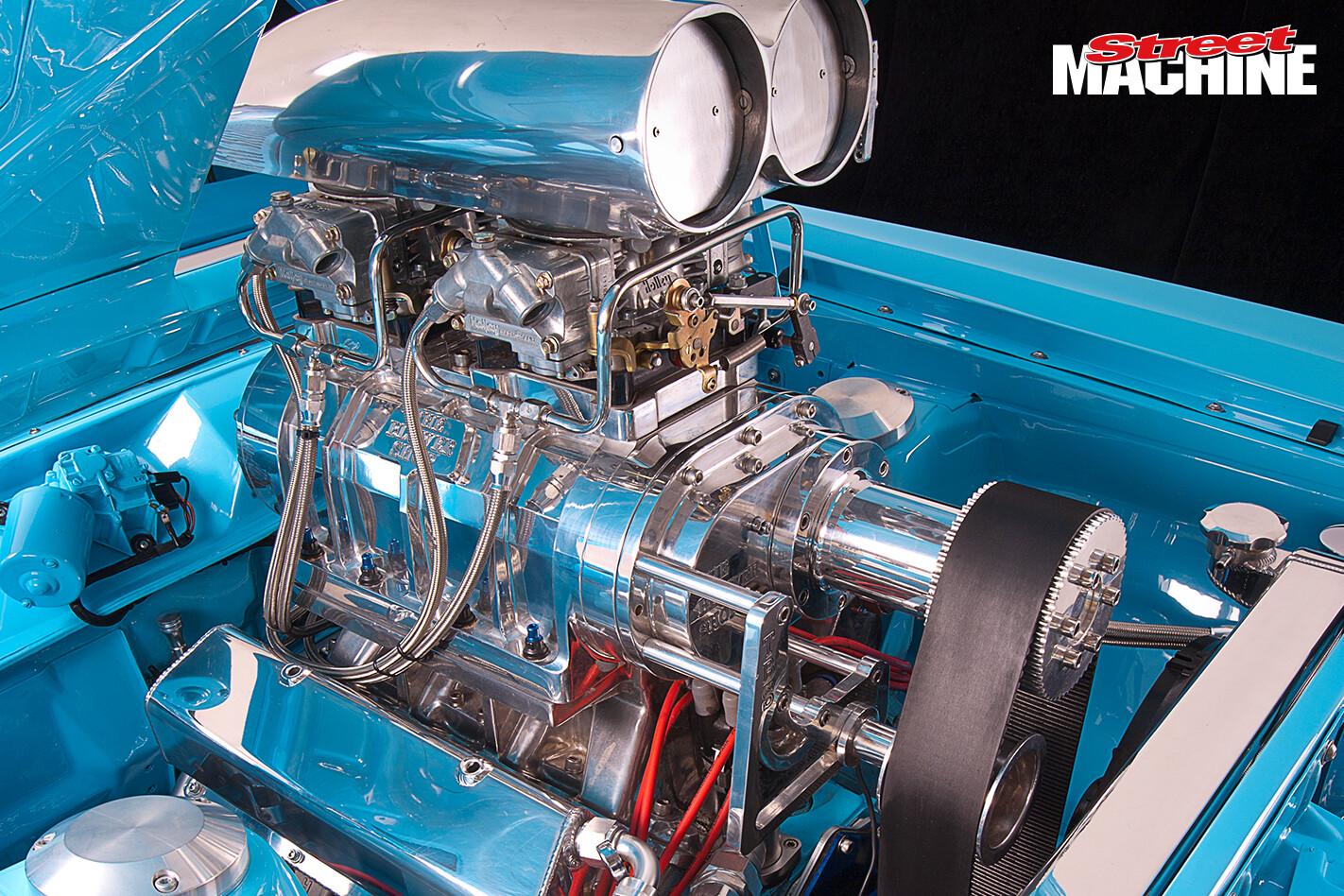 Ford XY Falcon Blown 383 Engine