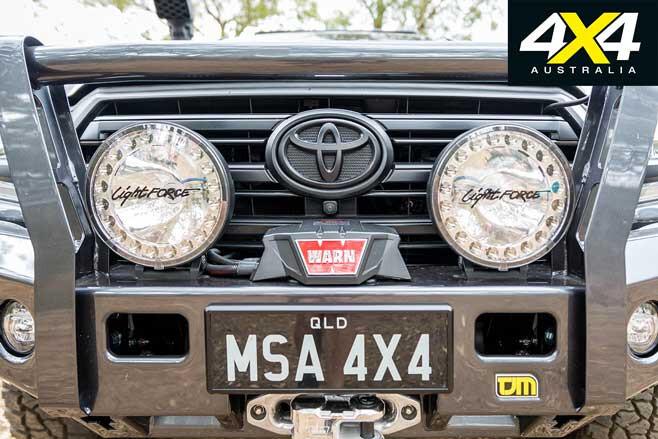 MSA 4 X 4 Toyota Land Cruiser 200 6 X 6 Project Super Cruiser Front Bar Jpg