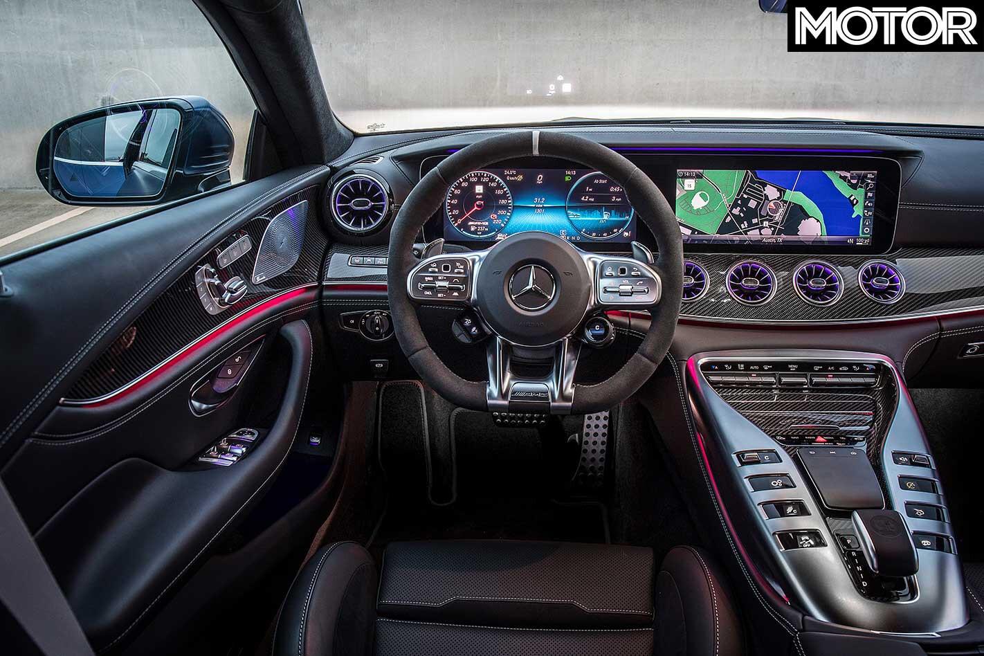 2019 Mercedes AMG GT 63 S 4 Door Interior Jpg
