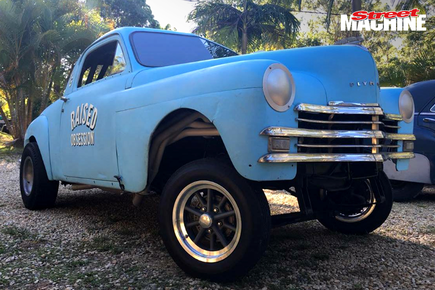 49 Plymouth Coupe Gasser