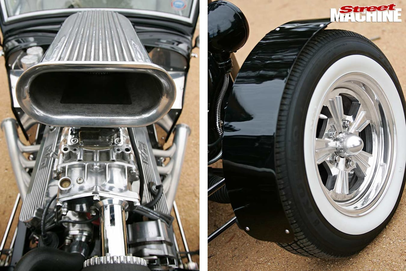 Ford coupe detail