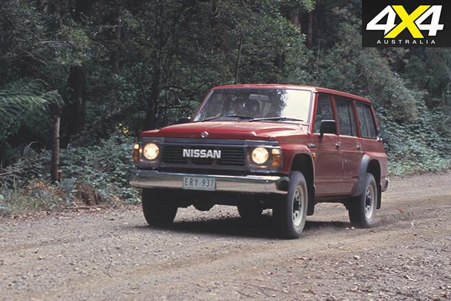 Nissan patrol driving
