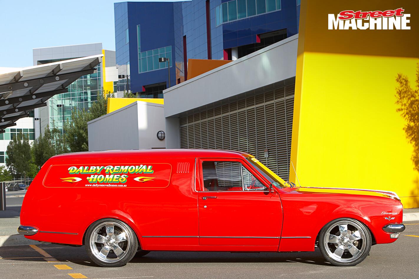 HK Holden Panel Van 1 Nw