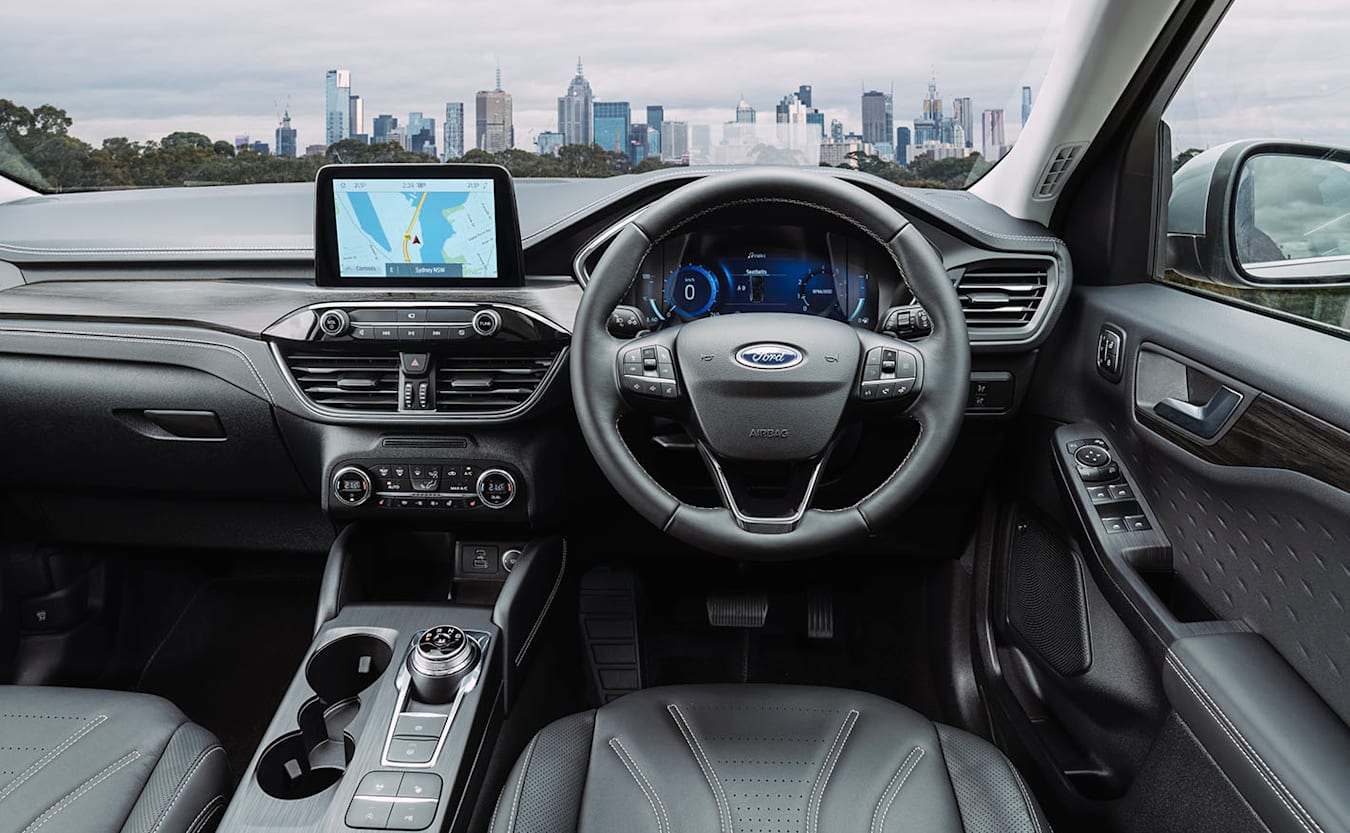 Ford Escape Vignale AWD interior