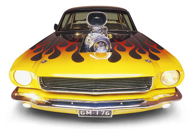 Ford Mustang coupe front