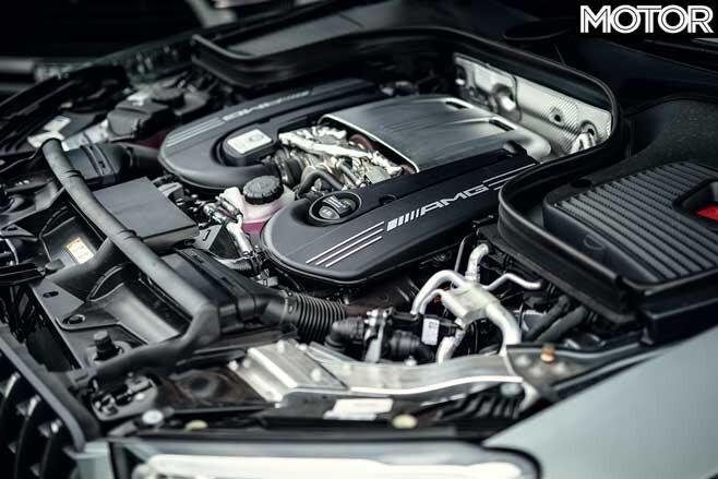 2020 Mercedes AMG GLC 63 Engine Jpg